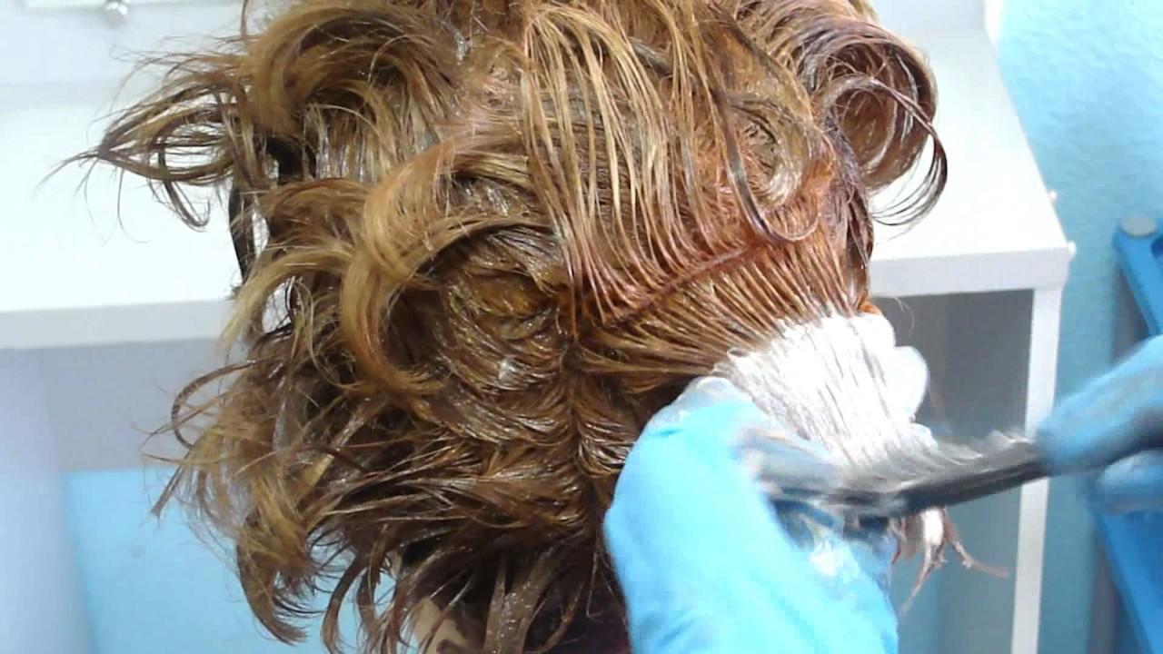 Окраска седых волос ромашкой с лимоном