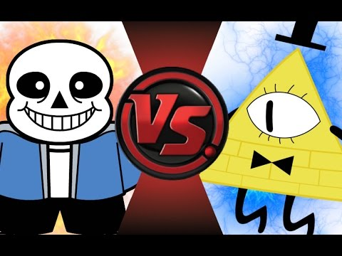 sans and papyrus meet bill cipher