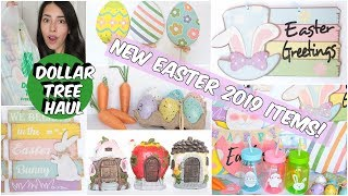 DOLLAR TREE HAUL NEW FINDS EASTER FEBRUARY 2019