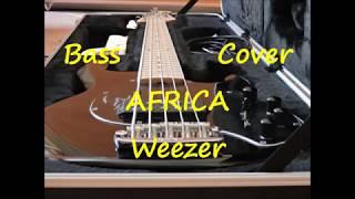 Weezer - Africa (BASS COVER) Video