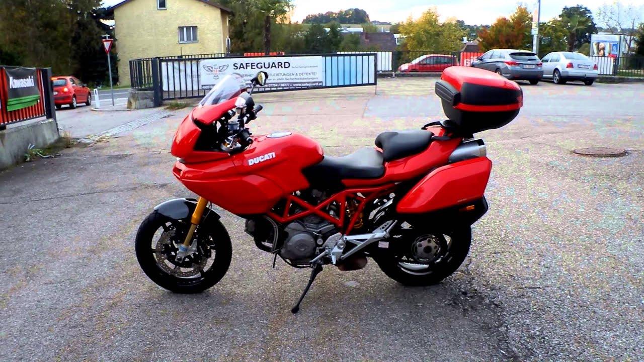 Ducati Multistrada 1100s custom - YouTube
