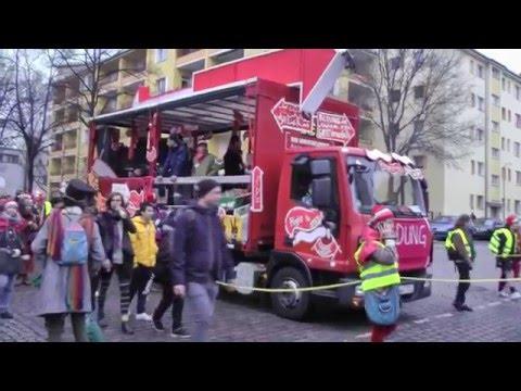 Carneval Der Geflüchteten 2016 Berlin/Kreuzberg