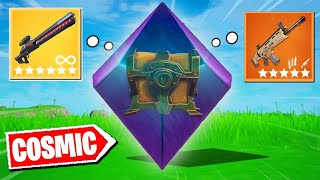 Fortnite, But I can only use COSMIC CHESTS