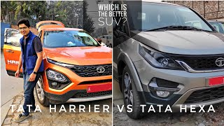 Tata Harrier vs Hexa | Best TATA car EVER? | Which SUV for you? | Traction Control