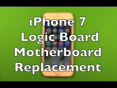 timeless design 3ff0d fde8a iPhone 7 Logic Board Motherboard Replacement How To Change - YouTube