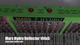 Mars Hydro Serie de reflectores 144x5 UNBOXING