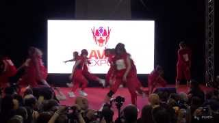 AVA Expo 2013 ДЕНЬ ВТОРОЙ (27.10.2013) - EXO - Wolf + BTS cover dance by Dialog Entertainment