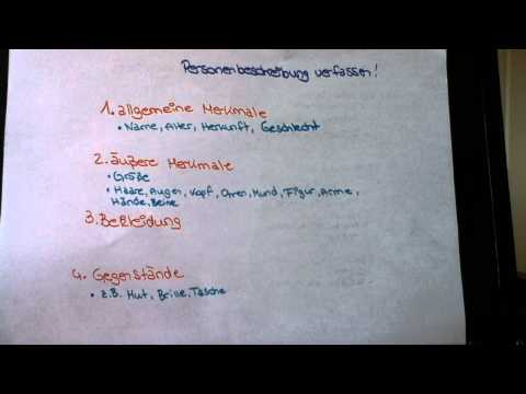 Einen Bericht schreiben - Übung für den Deutschunterricht von YouTube · HD · Dauer:  3 Minuten 35 Sekunden  · 112.000+ Aufrufe · hochgeladen am 20.08.2012 · hochgeladen von HausaufgabenTV