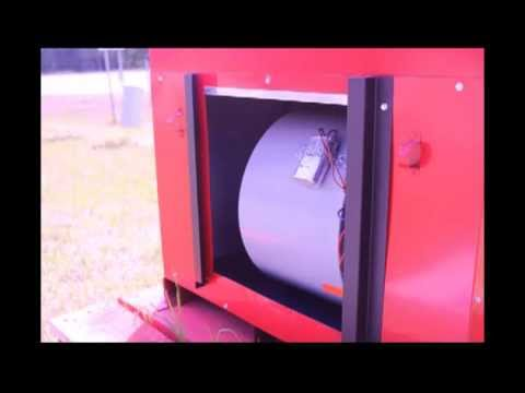 The Bearcat Wood Furnace By Charmaster Products Youtube