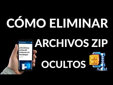 ¿Cómo Eliminar Archivos ZIP Ocultos de tu PC Para Siempre?