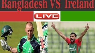 Bangladesh vs Ireland--Tri Nation Series--4th odi---2017--live