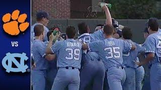 Clemson vs. North Carolina ACC Baseball Highlights (April 30, 2017)