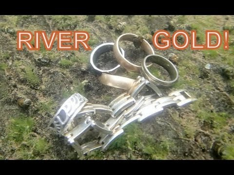 Thumbnail: River Treasure: iPhone, Gold Rings, Tons of Sunglasses and MUCH MORE!