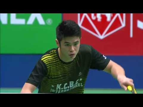 SCG Thailand Open 2016 | Badminton SF M3-MD | Lim/Ong vs Ang/Sap
