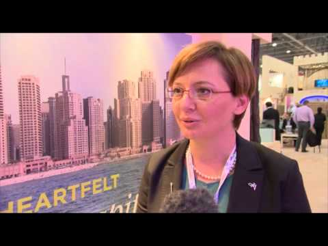Anabela Radosevic, director of sales & marketing, JA Resorts & Hotels @ WTM 2012