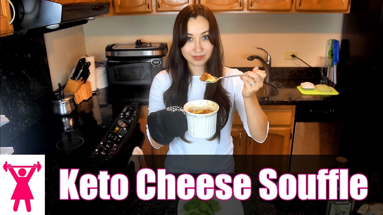 Ketogenic Diet Recipe Cheese Souffle Low Carb High Fat Youtube