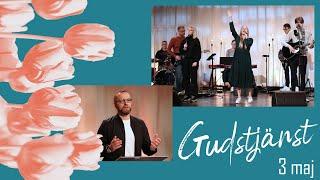 Gudstjänst 3 maj - Tungotalet ska tystna