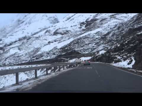 A82 Loch Lomond to Glen Coe, Scotland, 31-01-2015