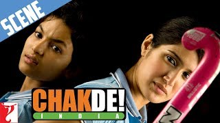 Komal vs Preity - Scene - Chak De India