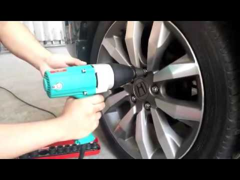 DCA APB20C Impact Wrench Test Demonstration
