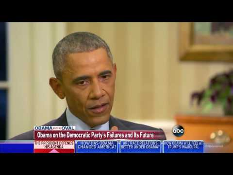 Obama: I Take Some Responsibility For The Destruction Of The Democratic Party