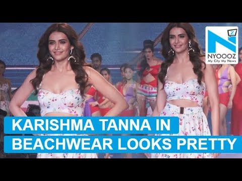 Karishma Tanna walks in style at BT Fashion Week thumbnail