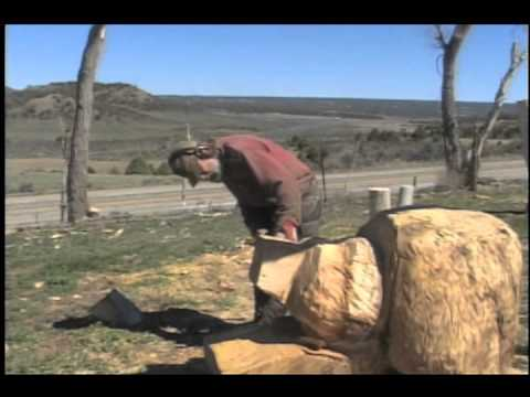Chainsaw Carve a Bear How-To