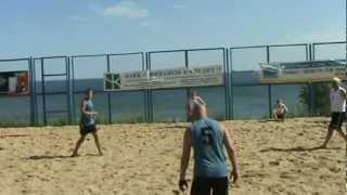 Пляжный гандбол. Кубок 2012. Ятрань - DMC. 1 тайм