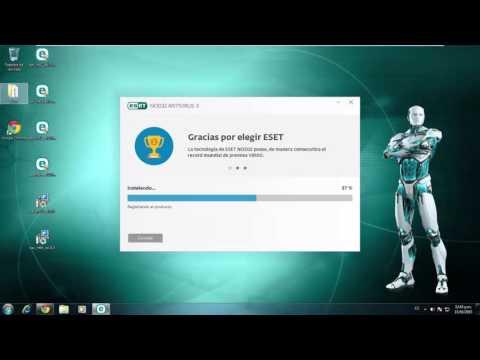 Descargar, Instalar y Activar ESET NOD32 Antivirus 9.0.x