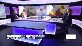 Incendie de Notre-Dame : le temps de l'union nationale ?