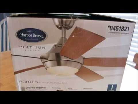 Pra7 Reviews Harbor Breeze Ceiling Fan Model 0451821