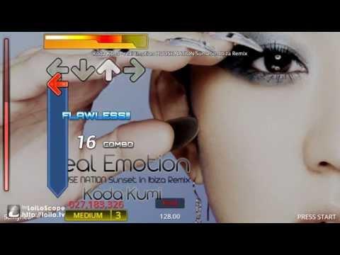 [GamePlay - Step Mania] House Nation - real emotion Sunset Ibiza Remix