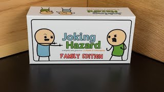 Joking Hazard Family Edition - A Cyanide & Happiness Announcement