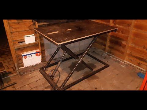 DIY Hydraulic Scissor lift / table Part #1