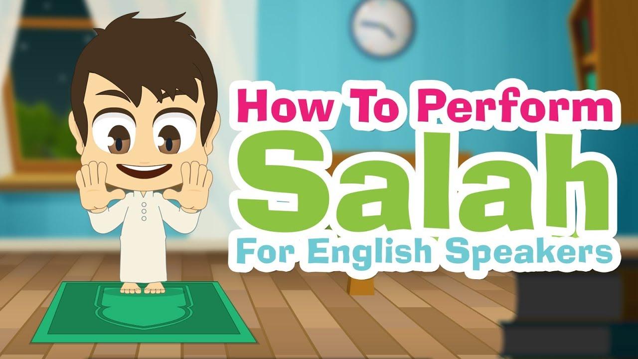 تعلم كيفية الصلاة باللغة الإنجليزية تعليم الصلاة للأطفال الناطقين بالإنجليزية مع زكريا Youtube