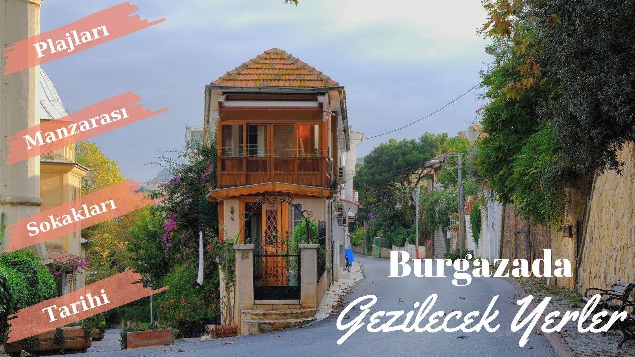 BURGAZADA Gezilecek Yerler I Burgazada Gezisi (Vlog, Gezi Rehberi, Ada Turu)