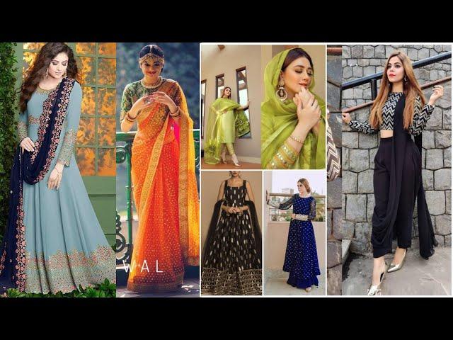 Festive Designer Anarkali Salwar Kameez / Indo Western / Saree #Online Shopping review #prititrendz