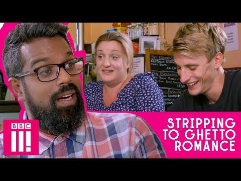 Stripping To Ghetto Romance | Romesh Talks To Daisy And Charlie From This Country