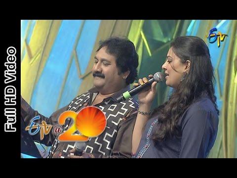 Mano and Geetha Madhuri Performs - Mudine Palli Song in Bheemavaram ETV @ 20 Celebrations