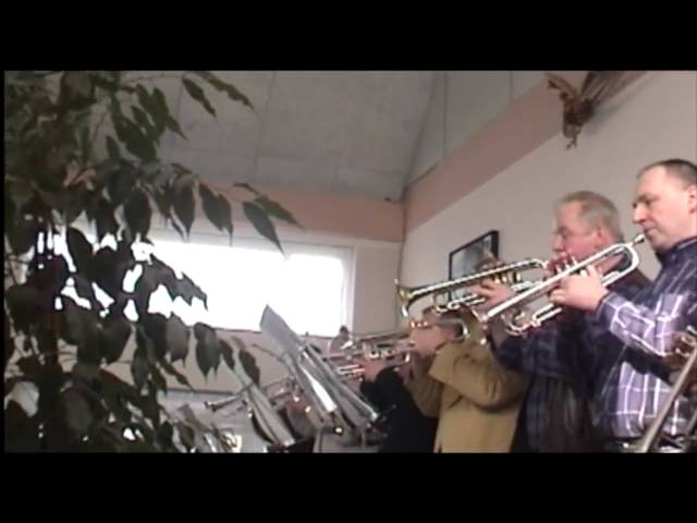 Rocky fanfare& Gonna Fly now played at first ever Trumpetparty!