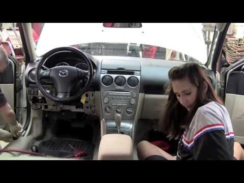 Mazda Dash Removal - YouTube