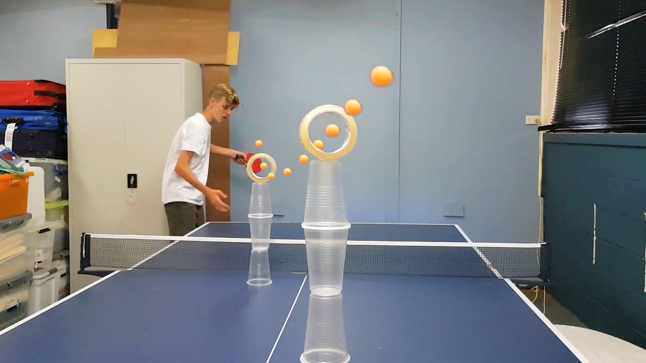 3 Years of Ping Pong Trick Shots