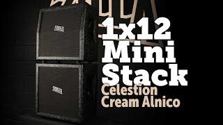 Celestion Alnico Cream loaded Zilla cabs Mini Stack 1x12