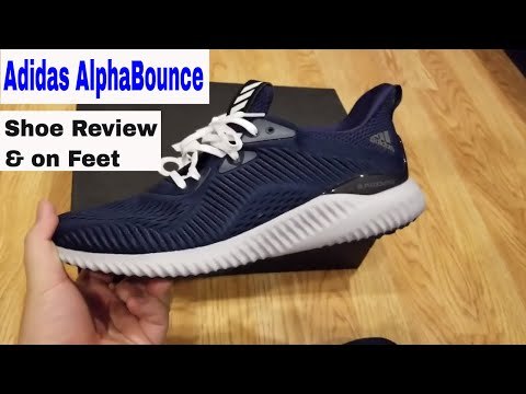 buy online 571ab d5df4 Adidas AlphaBounce Shoe Review  On Feet