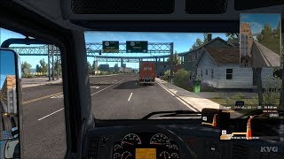 American Truck Simulator - Oregon - Astoria to Portland | Gameplay (PC HD) [1080p60FPS]