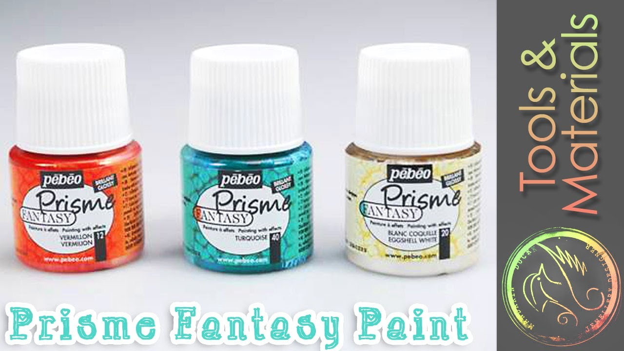 Amazing paint effect prisme fantasy and moon fantasy for Pebeo vitrail glass paint instructions