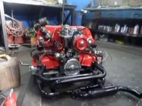 Motor Vw 1600 Preparado Youtube