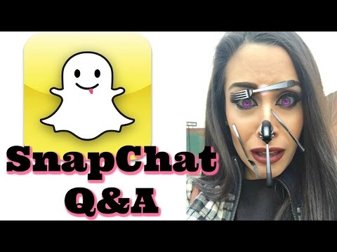 SnapChat Q&A | Vlogs?! Getting Married?! Bankruptcy?! + more