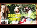 Exploring Secret Abandoned Bunker Tunnels In Forest / That YouTub3 Family