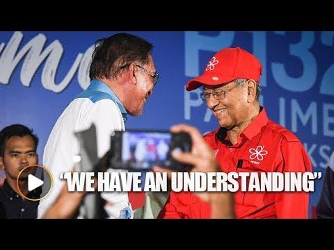 Anwar: Mahathir and I have an understanding